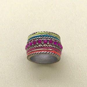 Multi-colored Fun Ring